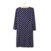 European 2014 new dot sleeve tight dress