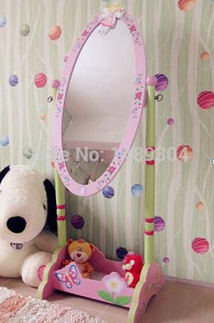 2014 novas crianças móveis de madeira crianças espelho de vestir(China (Mainland))