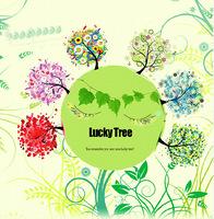 9 Chooses 5D Happy Lucky Tree diamond DIY cross stitch embroidery Full diamond painting Decoration 55x55