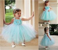 Free Shipping,Frozen Dress 2014Hot Fashion Girl's Frozen Gauze Dress Tutu Ball Gown Princess Dresses Party Costume Kids Clothing