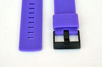 2 PCS* Fits Suunto Core Purple Flat Replacement Rubber Strap Loop/ Holder/ Locker/ Table ring