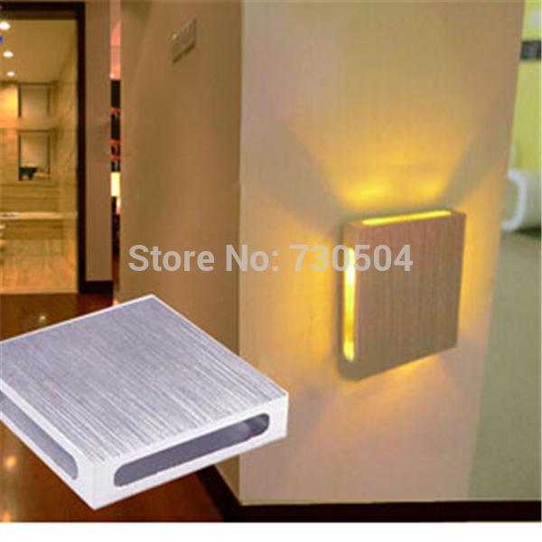 2pcs 1w Bedroom bedside lamp wall lamp modern wall led reading lamp ,Spot Led Recessed Night Light(China (Mainland))