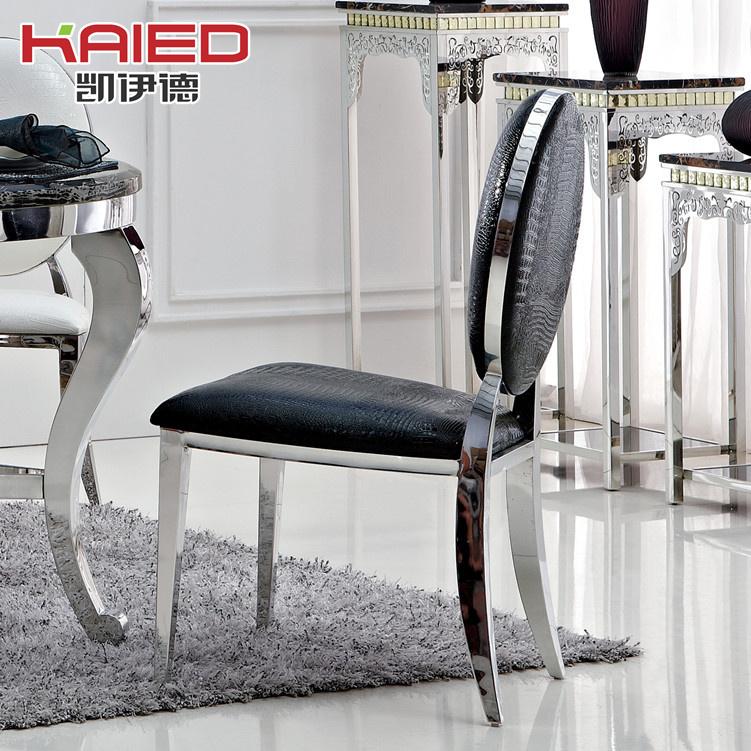 Online kopen wholesale staal eetkamerstoel uit china staal eetkamerstoel groothandel - Moderne eetkamerstoel eetkamer ...