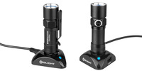 Olight S10R Baton Rechargeable Variable-Output LED Flashlight Free RCR123A Battery