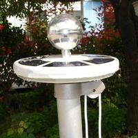 1pcs Solar 20LEDs Upgraded flagpole Light  Top Mount For yard Camping Garden decor