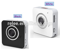 "2014 Newest 2PCS 720P 1/4"" COMS Wireless P2P mini Wifi IP Cloud Camera CTTV Camera IP Camera+Cycling Recording+Mail Free"