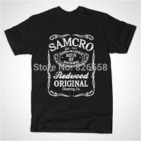 New Sons Of Anarchy t shirt Print Samcro T Shirt Roll Rock Hip Hop T-shirts Samcro Sitcoms T Shirts for Men