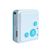 New RF-V16 Mini SOS Dual Talk Platform Long Standby Time Smart GPS Tracker Free Shipping