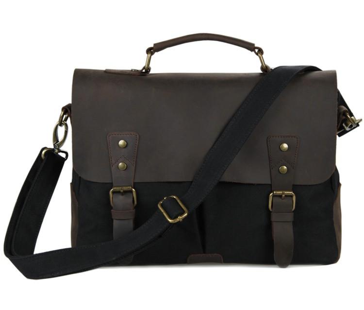 Achetez en gros sac de bureau pour le cuir des hommes en - Serviette de bureau pour homme ...