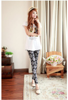 2014 autumn and winter women pants  legging trousers plus size female trousers autumn   jeans