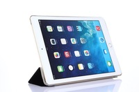 Ultra Slim Foldable Microfiber Magnetic Flip Smart Cover Auto Wake/Sleep Case with Stand Guard Skin Shell for Apple iPad Air 2