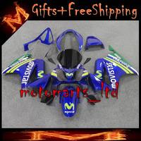 * movistar blue For HONDA VFR800 2002 2003 2004 2005 2006 2007 2008 2009 2010 2011 2012 VFR-800 02-12 Years Fairing for VFR 800