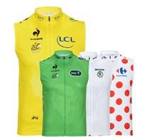 White Yellow Green Dot Summer Men Sleeveless Vest Cycling Jersey High quality cool bike shirts riding clothing (bib) shorts