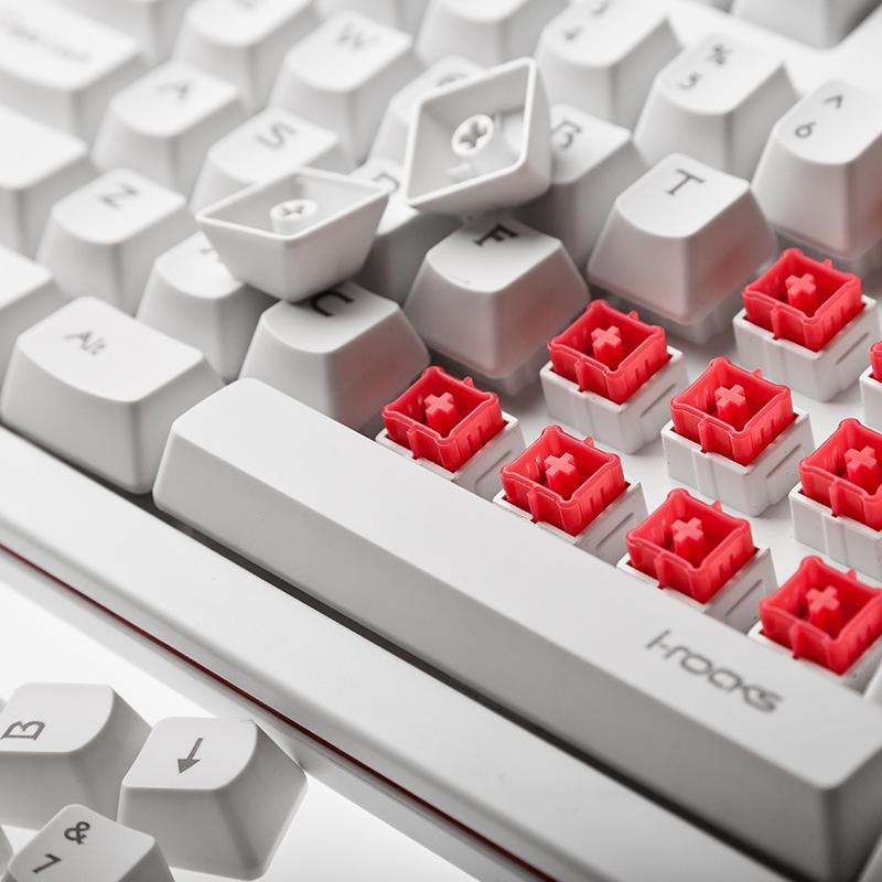 Ik10 mechanical keyboard handle usb wired gaming keyboard(China (Mainland))