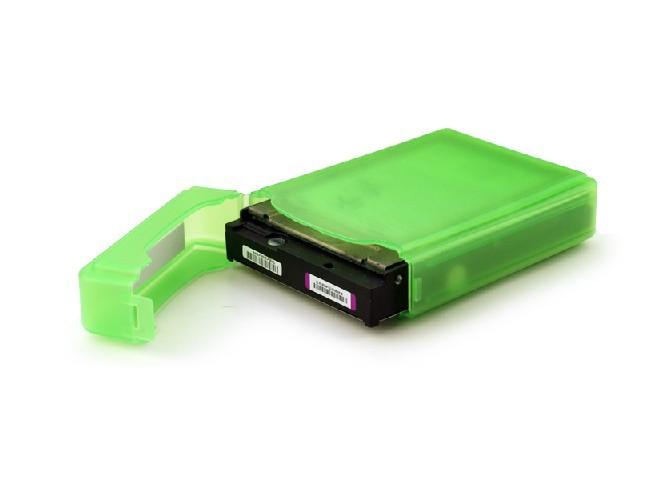 2pcs/lot 3.5inch Portable Hard Disk Drive Box HDD Storage Case 5 Colors Choose(China (Mainland))