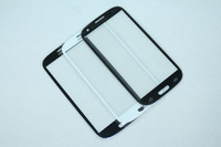 Mobile Phone Replacement Digitizer Touch Screen Glass Lens for Samsung Galaxy SIII S3 i9300 - White/Black