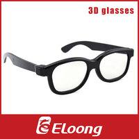 Eloong Plastic Circular polarized 3D Glasses 50pcs/lot Free shipping GPL002C