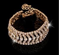 Full Rhinestone Bracelet Fashion Bracelet