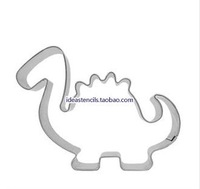 Stainless steel mousse ring Pineapple cakes biscuits die cookie cutter mold Cartoon dragon Jurassic dinosaurs HMC007