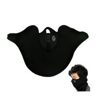 New Black Neoprene Neck Warm Face Mask Veil Guard Sport Bike Motorcycle Ski Snowboard