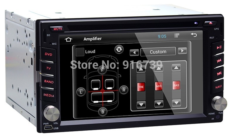 2 din Android 4.2 Car video radio player for universal car DVD with GPS+Wifi+Radio+free shipping+free 4GB map card+free camera(China (Mainland))