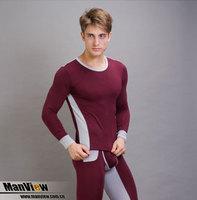 Manview modal warm men's underwear suits