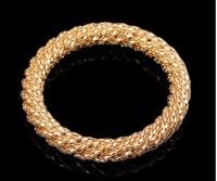 Fashion Gold Round Bracelet Bangle