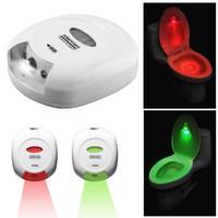 New Lavnav LED Energy-efficient Sensor Motion Light Activated Toilet Light Battery-operated Night Light