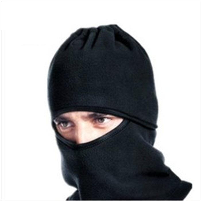 Free Shipping Windproof Motorcycle Riding Fleece Mask Headgear Bicyle Ski Face Protection Warm Masked Hat(China (Mainland))