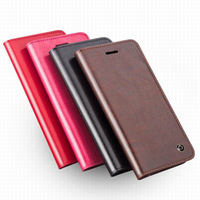 Original Qialino Genuine Real Leather Card Holder Flip Wallet Cover Protective Case for Samsung Galaxy Note 4 N9100 freeshipping