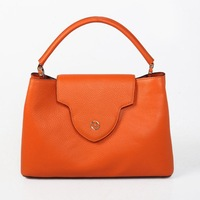 High quality 2015 lady's women casual genuine leather hobos hot sale handbags tote fashion shoulder bag cowhide good price