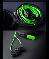 Razer Hammerhead Pro In Ear Earphone&Headphon Microphone+Retail Box Gaming Headset Noise Isolation Stereo Bass 3.5mm Christmas