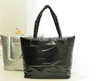 2015 New Cotton Handbag Fashion Women handbag Candy Corlor women shoulder bag,warm handbag,Leisure feather tote bag F001