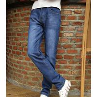 2014 Hot Mens Designer Jeans famous brand Straight Leisure Jeans men Youth Loose Men Jeans