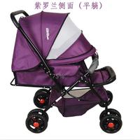 Baby stroller baby car light folding suspension bidirectional four wheel cart baby stroller