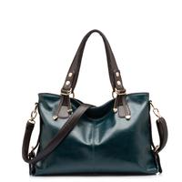 2014 Women Handbag Trendy Vintage Women Leather Handbag Fashion Shoulder Bag Hot Women Messenger Bag Cross-body Bag Leather Bags