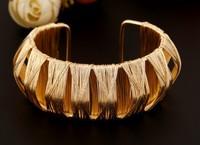 Fashion Opening Gold Open work Bracelet Wholesale
