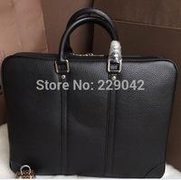 New arrival  men's PORTE DOCUMENTS VOYAGE M56002  real leather Handbags