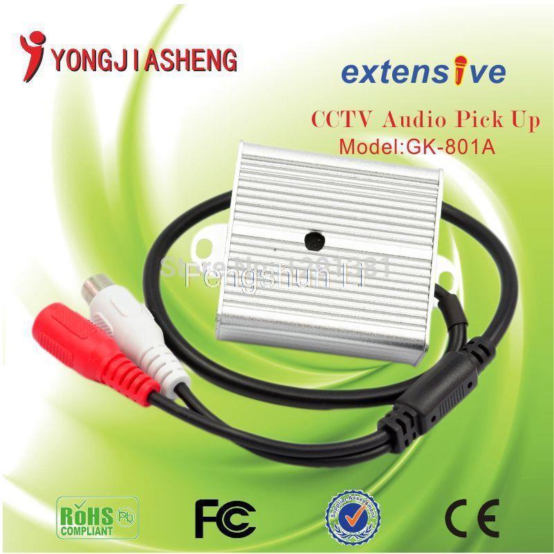 3PCS MINI CCTV mic Microphone sound monitor audio security free shipping(China (Mainland))