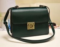 2014 Winter New Fashion Women Messenger Bags Quality PU Leather Hooves Buckle Cross-body Shoulder Bags Vintage Purse Bolsas