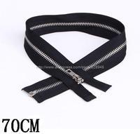 Wholesale 5 # metal Opening zipper long 70CM100 / bag Free Shipping