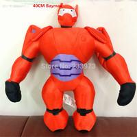 40cm Big Heros 6 Baymax Stuffed Plush Robot Doll High Quality Big Hero 6 Baymax Plush Doll Baby Soft Plush Toys For Kids Gift