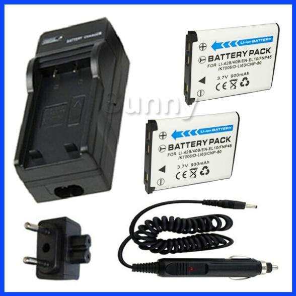 2x BATTERIA 1700mAh per Panasonic CGR-D110 CGR-D120 CGR-D220