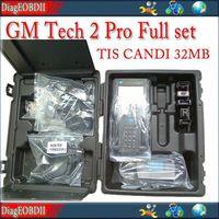 with Carton box  2014 GM tech 2 scanner candi TIS 32MB memory card full set support 6 software GM SAAB OPEL HOLDEN SUZUKI ISUZU