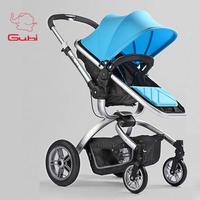 2015 gubi luxury baby stroller baby 4runner bb handcars double car umbrella