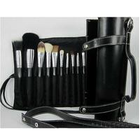 NEW! 2014 high quality MA brand 16pcs professional makeup brush set with  tube bag,Animal wool make up brushes set,free shipping