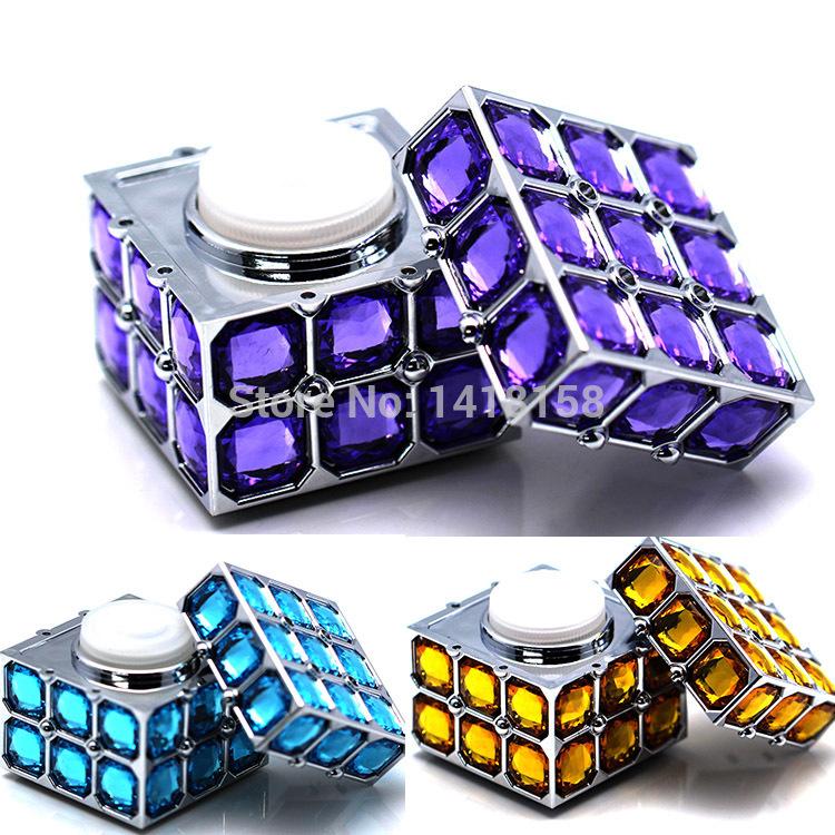Hot Selling Crystal Cube Perfumes Original 100 Brands Perfume Home Decration Accessories Xmas Gift Car Air Freshener XS02(China (Mainland))