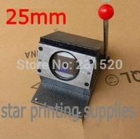 25mm Circle Cutter Round shape paper cutting machine for badge botton making