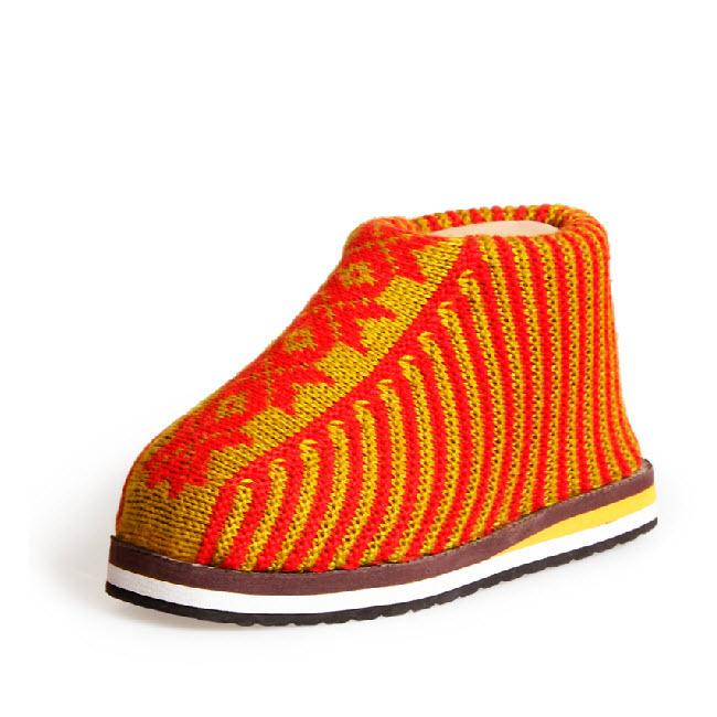 Sapatos feitos à mão - de meia-idade / idosos do inverno plana Slip on leve quente de malha peludo botas baixas tornozelo para os homens idosos / mulheres(China (Mainland))