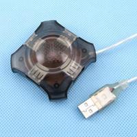 MINI 4 PORT USB 1.1 HUB Full SPEED For LAPTOP PC